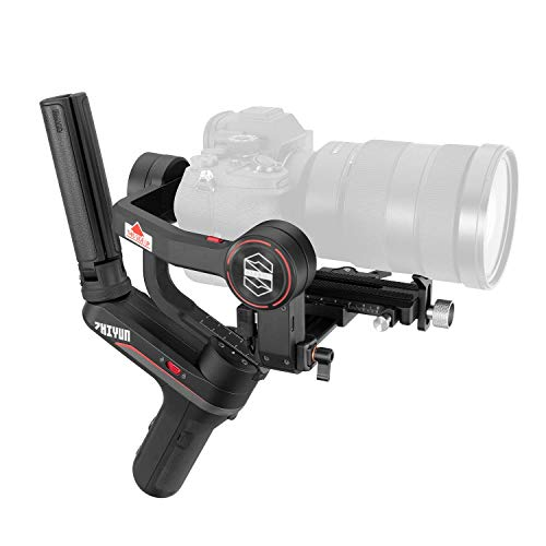 ZHIYUN WEEBILL-S [Official] 3-Axis Gimbal Stabilizer for DSLR Cameras, Mirrorless Cameras with Lens Combos