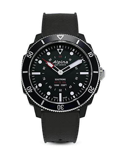 Alpina Schweizer Horological Hybrid-Smartwatch Seastrong AL-282LBB4V6