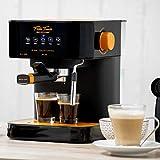 ECODE Cafetière Espresso Forte Touch, 20 bars, écran tactile, structure...