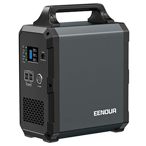 EENOUR ポータブル電源 EB120 超大容量 324000mAh/1200Wh 家庭用蓄電池 純正弦波 PSE認証済 AC(1000W 瞬間...