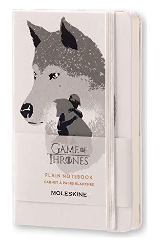 Moleskine LEGTQP012 - Cuaderno diseño Juego de Tronos, liso, edición limitada, pocket 9 x 14