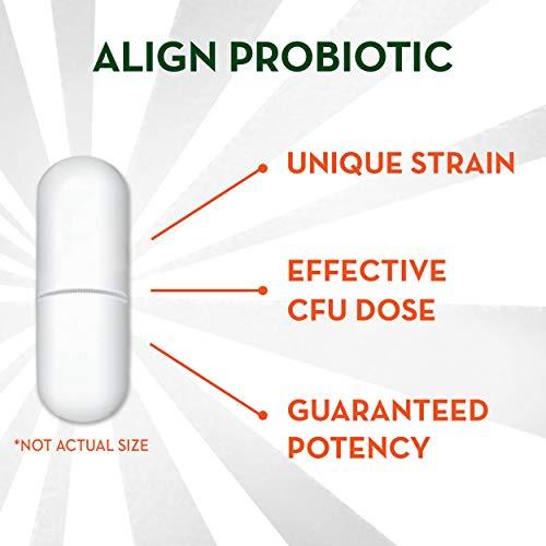 Align Probiotics Supplement, 63 Capsules, Natural Strain Probiotic Digestive Support for Adult Men and Women 10