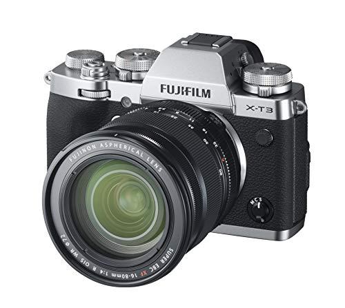 FUJIFILM ミラーレス一眼カメラ X-T3 XF16-80mmレンズキット シルバー X-T3LK-1680-S