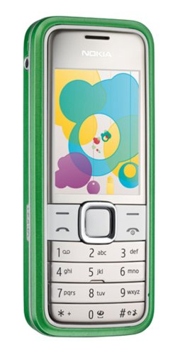 Nokia 7310 Supernova Unlocked Cell Phone with 2 MP Camera, Media Player, MicroSD Slot-International Version with No Warranty (Steel Blue) 3