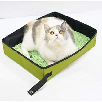 Cat-Collapsible-Portable-Litter-Box-Cat-Travel-Litter-Box-Toilet-Tray-Carrier-for-Small-Cats-Soft-Foldable-Waterproof-Pet-Cat-Litter-Pan-Portable-for-Travel