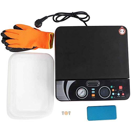 BTIHCEUOT Multifunktionale 3D-Vakuum-Sublimations-Transferpresse Kit für Phone Cases Tassen Tassen Platten Bleche Druck 100~230V(US-Stecker)