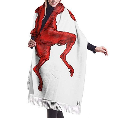 EU La capra rossa collo senza cuciture sciarpa bandana maschera moto ciclismo equitazione fasce per la corsa