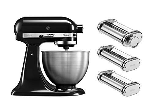 KitchenAid Robot pâtissier multifonction - Bol en acier 4,3L - Argent (Cuisine)