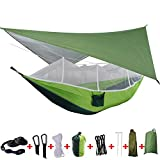 Ouqian Camping Hamac 2 Personne Camping hamac Tente avec moustiquaire...