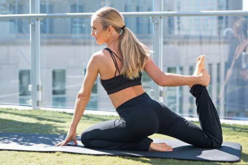 Houmous S-XXL Petite/Regular/Tall Length, Women's Yoga Bootleg Pants Inner Hidden Pocket Workout Pants(Petite-29 Inseam-Black, X-Large) 7