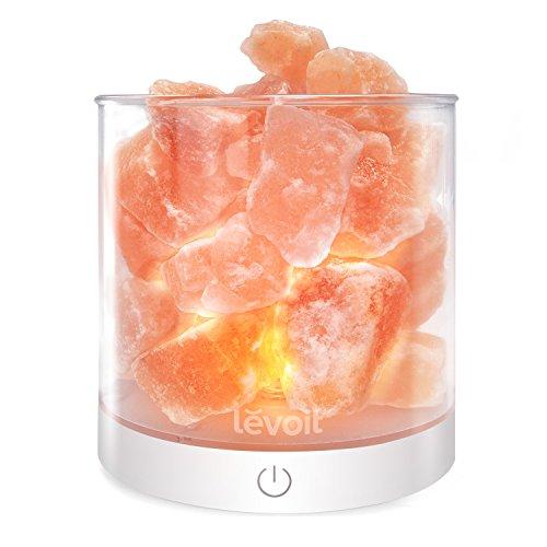 Levoit Cora Himalayan Salt Lamp Natural Hymalain Pink Salt Rock Lamps
