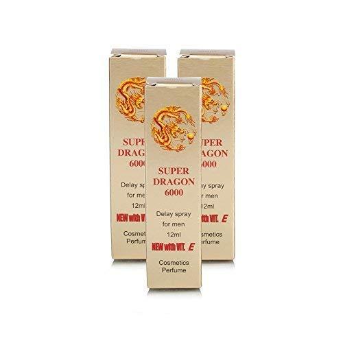 3X Super Dragon 6000 Spray (And)Bull Power Delay Cream-(Super Combo) for a Night to Remember Plus Love Potion Pen