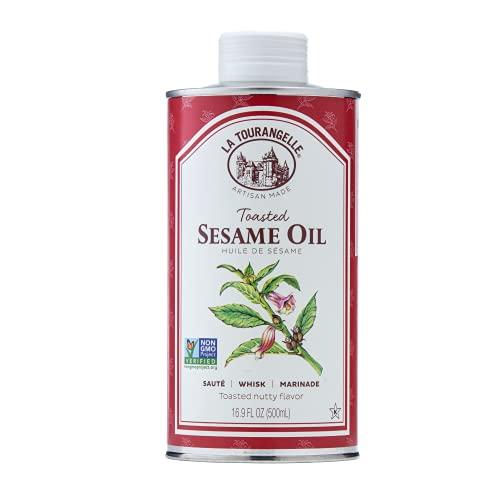 Toasted Sesame Oil – All-natural, Expeller-pressed, Non-GMO, Kosher.