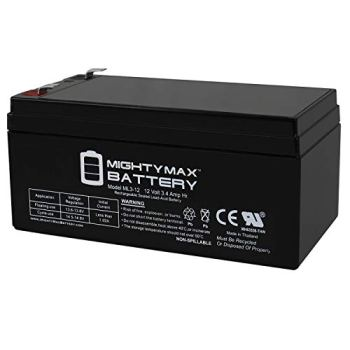 Mighty Max Battery ML3-12 Replacement for Toro Lawn Mower # 106-8397 BATTERY-12V 3.4Ah Brand Product