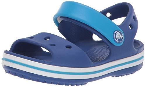 Crocs Crocband Sandal Kids, Sandalias Unisex Niños, Azul (Cerulean Blue/Ocean), 33/34 EU