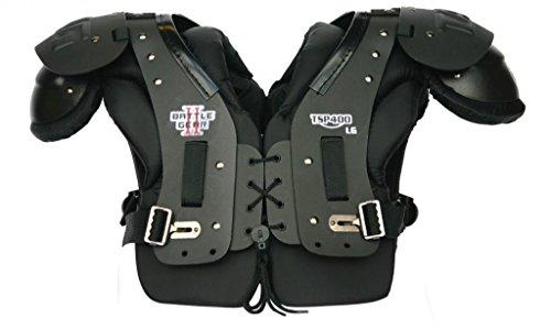 TAG Battle Gear II Hybrid Multi-Position Football Shoulder Pad TSP400 (T-Hook Lockdown Side Strap) 3X-Large