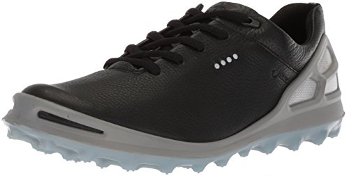 ECCO Women's Cage Pro Gore-Tex Golf Shoe, Black, 38 M EU (7-7.5 US)