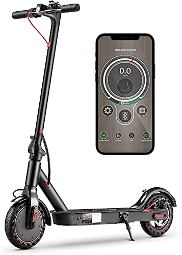 iSinwheel i9 Electric Scooter for Adults, Max Speed 18.6MPH, 8.5'' Maintenance Free Tires, 15.5 Miles Long-Range Battery, Max Load 264 lbs, UL Certified Portable Adult E-Scooter for Commuter