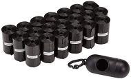 AmazonBasics - Sacchetti per bisogni dei cani, con dispenser e clip per guinzaglio,300 unità