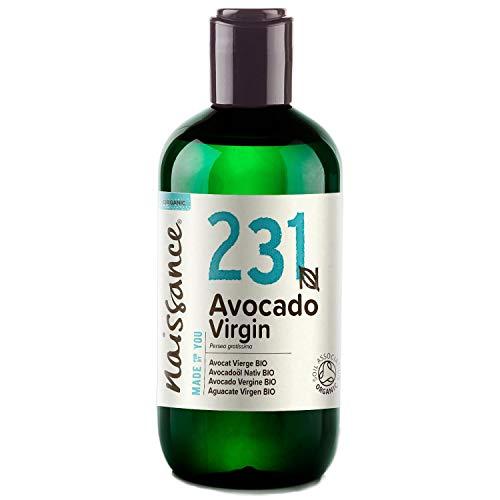 Naissance Avocadoöl, nativ 250ml BIO zertifiziert 100% rein