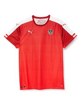 Puma - Maglietta Tecnica da Uomo, Modello Nazionale Austriaca (Replica)