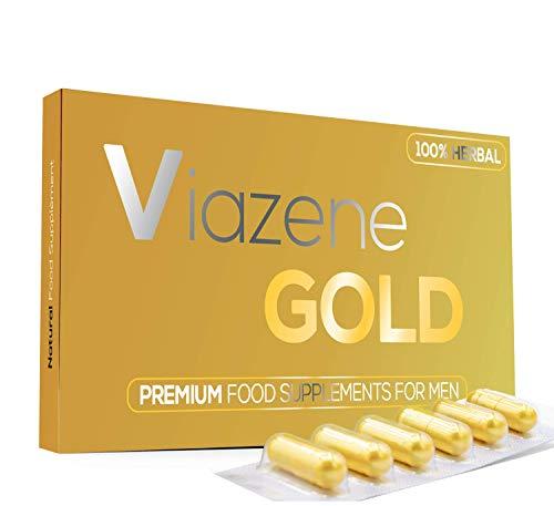Viazene (6 Kapseln) - Für Aktive Männer 100{5cbd73511c373f6cc7608bb6426cca37c9770856df7af82c7ddc439206825bfd} Natürliche - Ultrahochfeste Formel