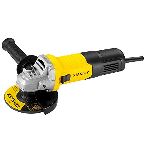 Stanley STGS9100 900W,100mm Small Angle Grinder (Yellow and Black) (STGS9100-IN)