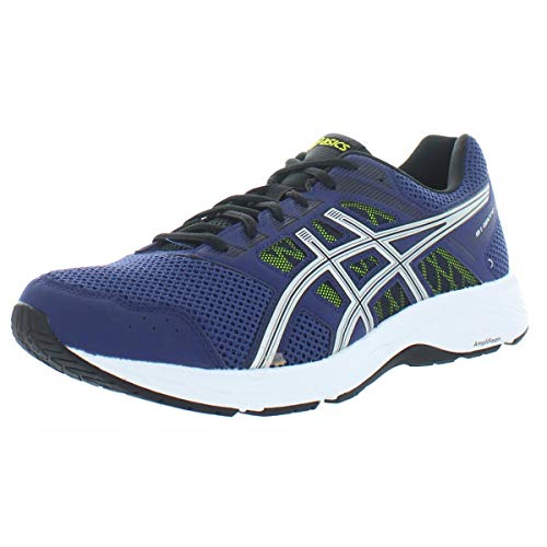 ASICS Men's Gel-Contend 5 Running Shoes, 8M, Indigo Blue/Silver