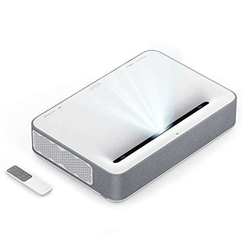 VAVA 4K UHD Laser TV Home Theatre Projector | 6000 Lumens | Ultra Short Throw | HDR10 | Built-in Harman Kardon Sound Bar | ALPD 3.0 | Smart Android System 9