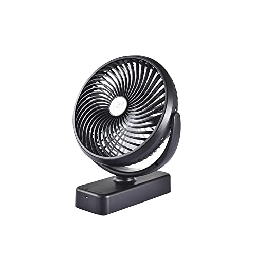 10000 mAh Battery Camping Fan with LED Lights,7 inch Camping...