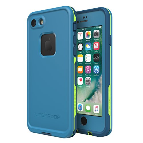 Lifeproof FR SERIES Waterproof Case for iPhone 8 & 7 (ONLY) - Retail Packaging - BANZAI (COWABUNGA/WAVE CRASH/LONGBOARD)