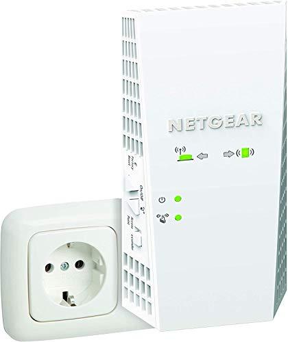 NETGEAR Ripetitore WiFi Mesh AC2200 EX7300, WiFi Extender Dual band, Porta Lan, Ripetitore WiFi wireless compatibile con modem fibra e adsl