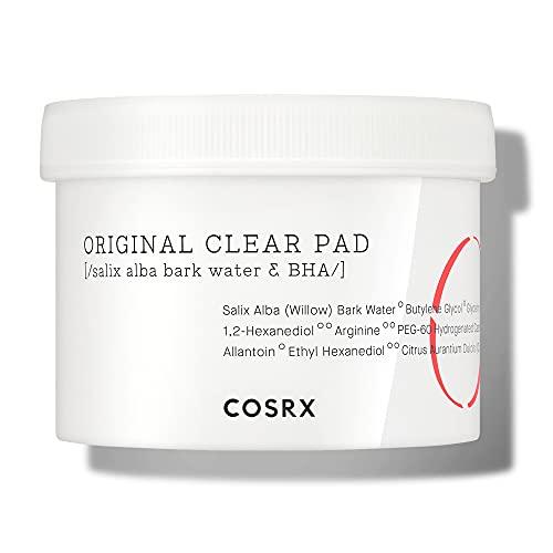 COSRX  Un paso, 70 almohadillas Original botón Clear