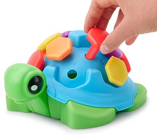 TOYPIX Fine Motor Turtle Toy for Toddlers 1-3   Pegs Toys...