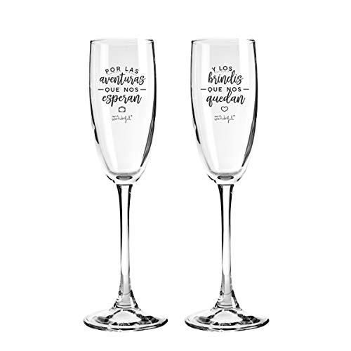 Mr. Wonderful Dos copas para parejas que se quieren con locu