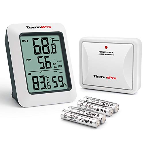 ThermoPro TP-60S Indoor Outdoor Thermometer