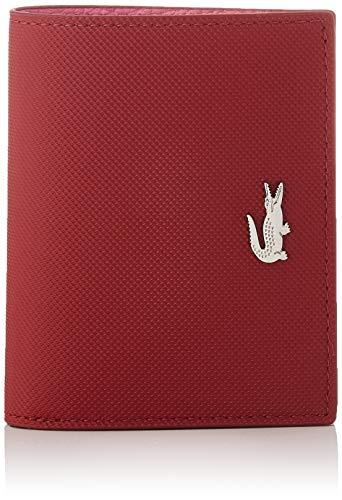 Lacoste NF3252, Accessoire de voyage- Portefeuille Pour Femmes, Rouge...