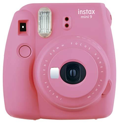 Instax Mini 9 Instant Camera, Fujifilm, Pink Flamingo