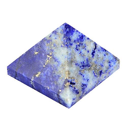 TOPINCN Pirámide de Cristal 100% Natural de Cuarzo pirámide de energía curación Torre decoración del hogar