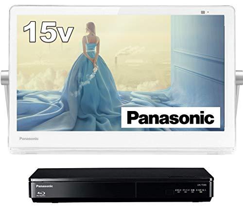 パナソニック 15V型 ポータブル 液晶テレビ インターネット動画対応 プライベート・ビエラ 防水タイプ 500G...