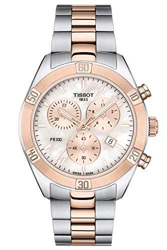 Tissot Damen-Chronograph PR 100 Sport Chic Lady T101.917.22.151.00