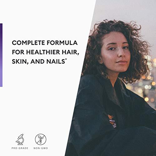 Biotin 5000 MCG - Vitamin B7 with Coconut Oil - Natural Biotin Supplement for Hair Growth, Nail & Skin Health - Vegan & Non-GMO - Skin, Hair and Nail Vitamins - 60 Capsules 7