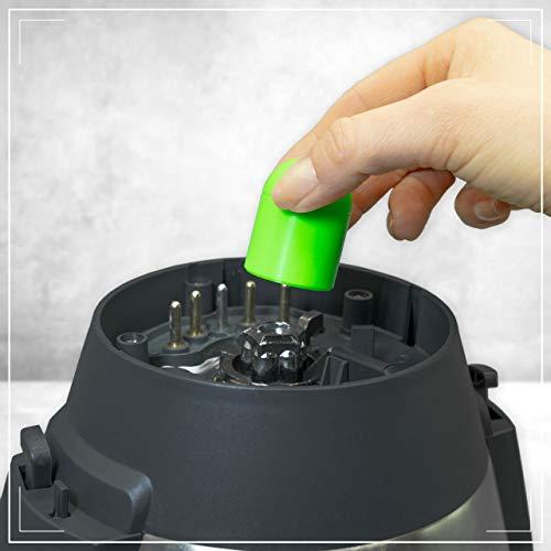 Coolina® Teig-Ex - Quitamasas para Monsieur Cuisine Connect. Color: Greeny Gecko (verde geco)