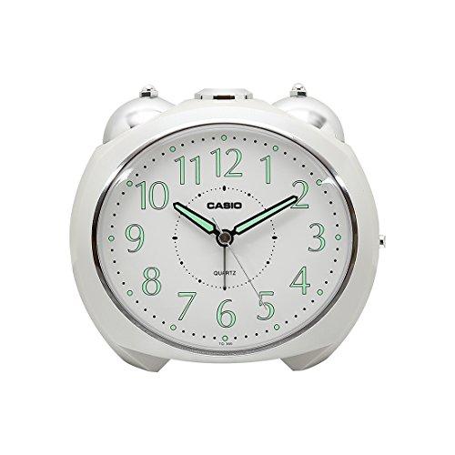 Casio Plastic Analog Table Clock (TQ-369-7DF, 11.6 x 13 x 9 cm)