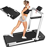 ANCHEER Treadmill for Home, 2-in-1 Folding Treadmill with App Control and Remote Control, Compact Under Desk Treadmill for Small Spaces and Home Gym Office Use
