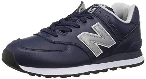 New Balance Herren 574v2 Sneaker, Blau (Pigment/Munsell White Lpn), 43...