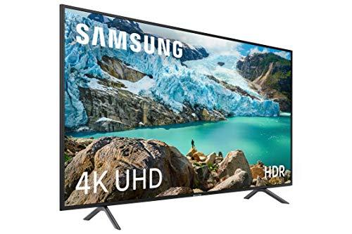 """Samsung 4K UHD 2019 55RU7105 - Smart TV de 55"""" con Resolución 4K UHD, Ultra Dimming, HDR (HDR10+), Procesador 4K, One Remote Experience, Apple TV y Compatible con Alexa"""