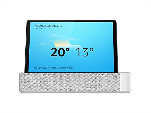 Lenovo Smart Tab M10 Plus Tablet, Display 10.3' Full HD, Processore MediaTek Helio P22T, 64 GB Espandibile fino a 256 GB, RAM 4 GB, WiFi+Bluetooth 5.0, 2 Speaker, Android Pie, Platinum Grey, Alexa