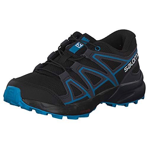 Salomon Kinder Trail Running Schuhe, SPEEDCROSS J, Farbe: schwarz/blau...