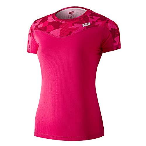 42K RUNNING - Maglietta tecnica 42k Ares da donna., Donna, Lampone, M